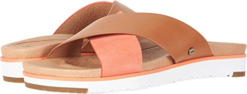 - UGG Women's Kari Flat Sandal, Fusion Coral, 8.5 M US