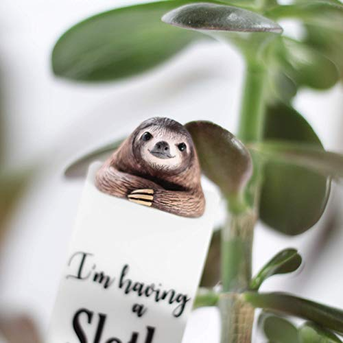 Sloth Bookmark Mothers Day Husband Gift Anniversary Boyfriend Cute Sloth Gifts for Kids for Booklovers Bookmarks]()