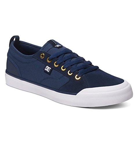 Dc Mens Evan Smith Tx Skate Shoe Navy / Cioccolato Fondente