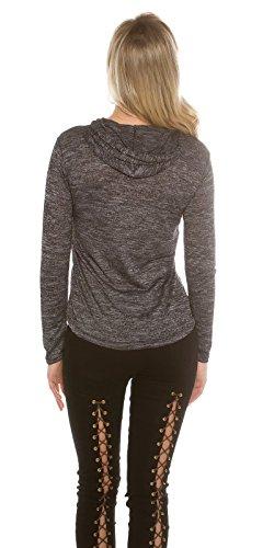 KouCla - Sudadera con capucha - para mujer gris