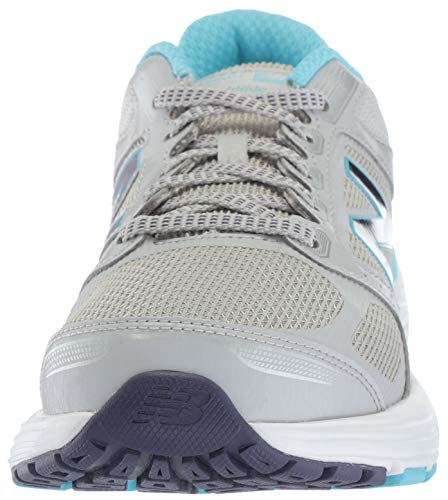 Low Womens W560cm7 Top Running New Regenwolk Balance Sneaker Lace Up emaille Blauw wqf5ntE