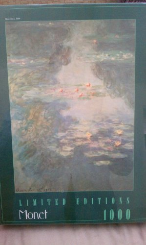 Limited Edition Jigsaw - Limited Editions 1000 Piece Jigsaw Puzzle~Monet~Waterlilies, 1908