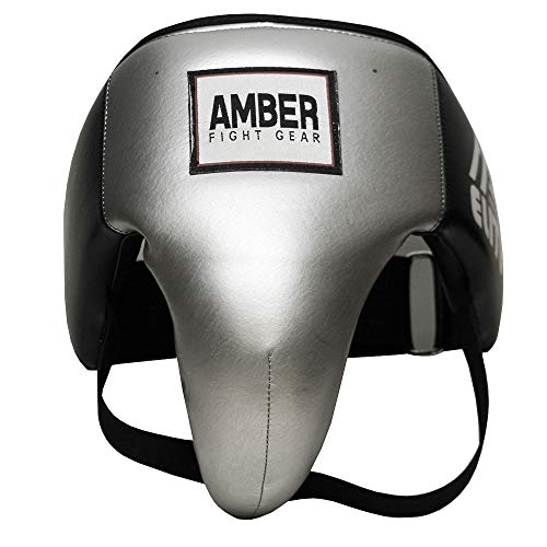 Amber Fight Gear Boxing Elite Deluxe MMA Groin Abdominal Protector – Comfortable Ultimate Protection for Contact Sports…