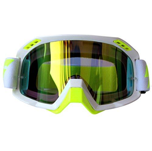 Lentes A a de de Fondo Prueba explosiones de esquí esquí Impermeables de Prueba Gafas PC Polvo Ciclismo ya Color wB1f4q