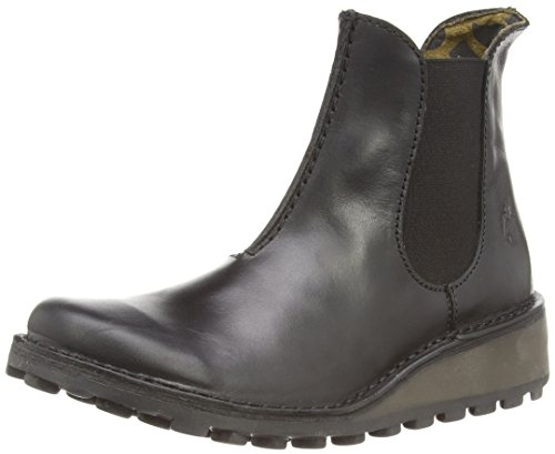 Leather EU Muna London Womens Boots 40 Black Fly w04Bq6I0