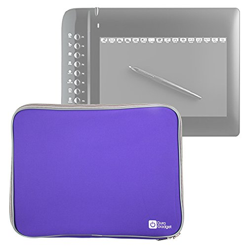 "DURAGADGET Purple 14"" Water & Shock Resistant Neoprene Case"