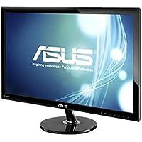 ASUS VS278Q-P - LED monitor - 27 - 1920 x 1080 FullHD - 300 cd/m2 - 80000000:1 (dynamic) - 1 ms - 2xHDMI, VGA, DisplayPort - speakers - black