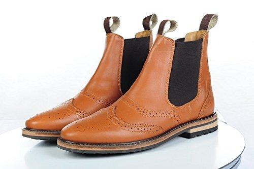 HKM Stiefeletten -Rex Rom- aus Leder, Schuhgrösse 36, braun