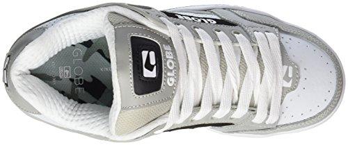 Globe Jungen Tilt Low-Top, Weiß (White/Grey/Black),37.5EU (5.5 US)