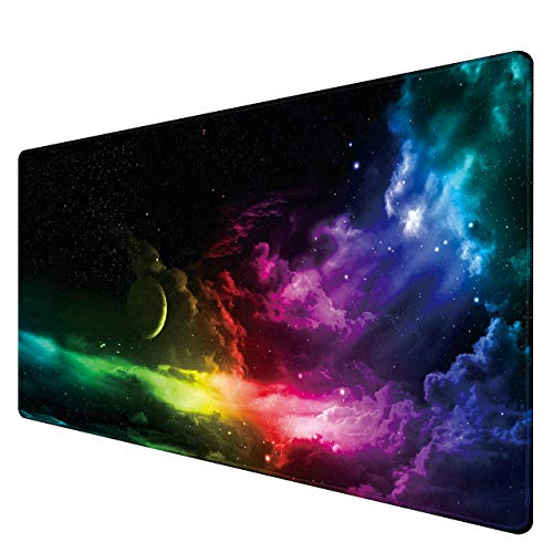 Benvo Extended Mouse Pad Large Gaming Mouse Pad- 35.4x15.7x0.12 inch