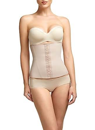 Squeem Women's 'Perfect Waist' Contouring Cincher Underwear, Beige, XS