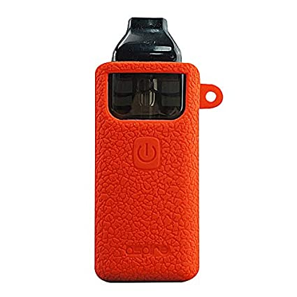 DSC-Mart Texture Case for Aspire Breeze 2, Anti-Slip Silicone Skin Cover Sleeve Wrap Gel Fits Aspire Breeze2 Kit Box MOD (Red)