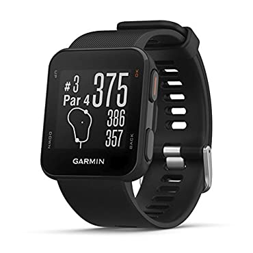 Garmin Approach S10 Lightweight GPS Golf Watch, Black, 010-02028-00