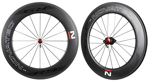 Nova NOVATEC Road R9 Clincher Carbon Wheelset for Shimano SRAM Campy 8-11s 90mm