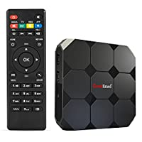 Greatlizard Android 7.1 A95x R2 TV Box 2GB DDR3 16GB EMMC Quad Core 32bit 4K Ultimate HD 2.4G Wifi