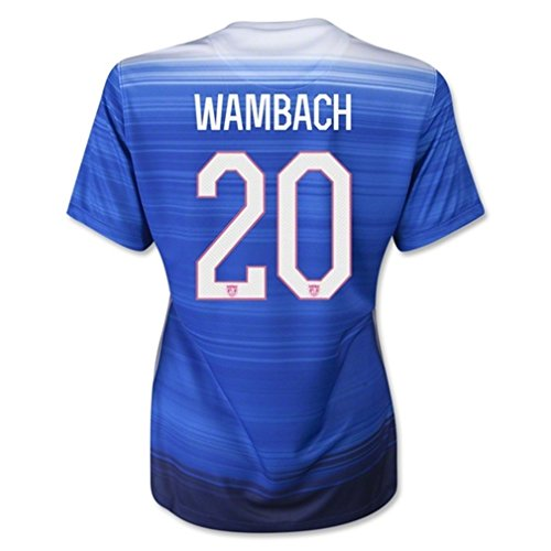Nike USA 2015 Youth Away Soccer Jersey Wambach #20 Youth Small (20 Away Soccer Jersey)