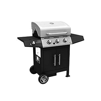 barbecue bbq golosone 3 bruciatori fornello 15kw con ripiano ... - Cucina Con Bombola