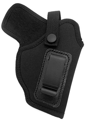 HOLSTERMART USA Dual-Function OWB Belt Slide or IWB AIWB Inside Pants Holster with Body Shield for Ruger LC9, LC9S, EC9S with Crimson Trace Laser