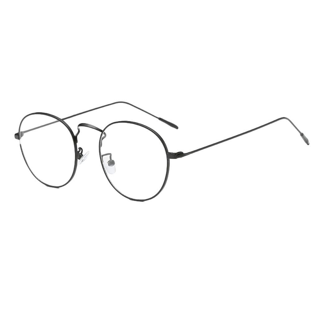Hibote Occhiali rotondi da uomo donna - Occhiali da vista trasparenti - Occhiali da vista - 18082305 hibote network technology Co. Ltd X180823YJJ0503-X
