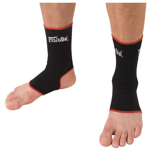 Fairtex Ankle Supports, Black/Red