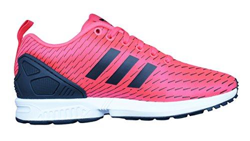 Flux rosso Scarpe Low Adidas Zx Donna Neon Nero top qnp5E0xwO