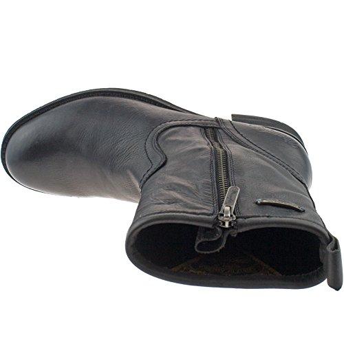 Støvler Brann Svart Zip Wl32580 Wrangler 62 Damer qBdwnt
