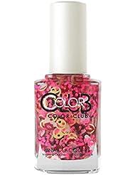 Color Club Nail Lacquer Nailmoji, Neon Omg, 0.5 Fluid Ounce
