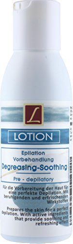 1X Depilatory, Hair Removal, Waxing, Pre-Treatment Lotion, SOOTHING, PREMIUM QUALITY, 125ml LILIET
