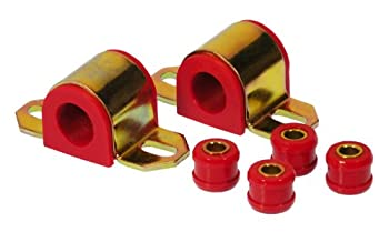 Prothane 7-1144 Red 24 Mm Rear Sway Bar Bushing Kit 0
