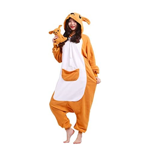 a6a023451f Magicmode Unisex Adulto Fiesta De Pijamas Traje De Cosplay De Dibujos  Animados Animales Kigurumi Con Capucha