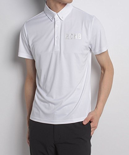 尋ねる現代寄生虫(ナンバー) Number RCNBベーシックRUNボタンダウンシャツ O ホワイト