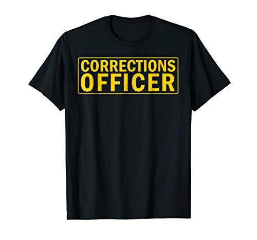 (Mens Official Prison Guard Shirt Corrections Officer Tee Large)