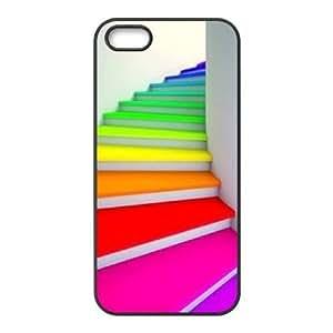 Rainbow CUSTOM Case Cover for iPhone 5,5S LMc-41707 at LaiMc