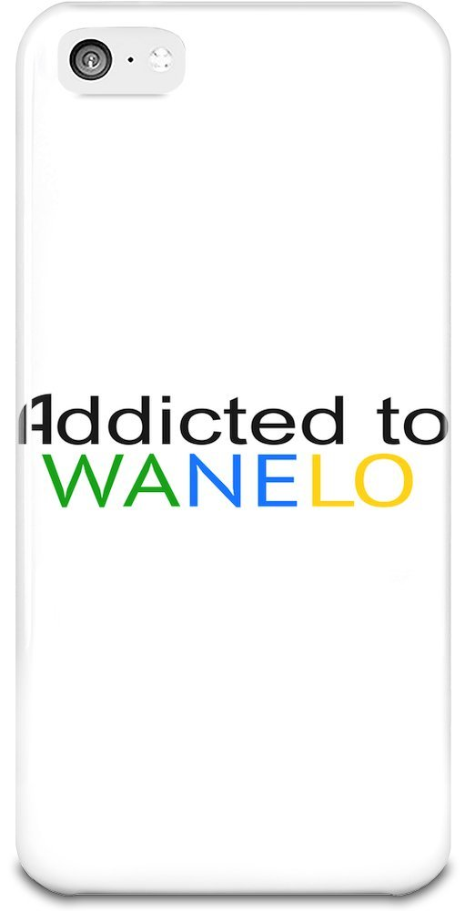 Addicted To Wanelo Slogan iPhone 5 5s Case Cover 4d3bb568f