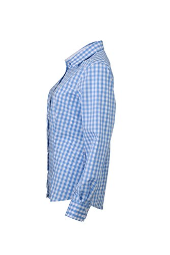 James Donna Amazon Blusa Checked Nicholson it Ladies' Blouse amp; rAaCqYwr