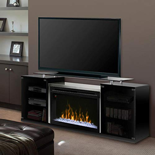 Cheap DIMPLEX Marana Media Console Electric Fireplace Acrylic Ember Bed Black/1500 Black Friday & Cyber Monday 2019