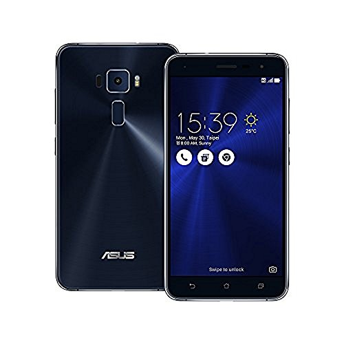 Asus ZenFone 3 ZE520KL 32GB Sapphire Black, 5.2-inch, Dual Sim, 3GB Ram, Unlocked International Model by ASUS