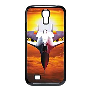 ANCASE Customized Airplane Pattern Protective Case Cover Skin for Samsung Galaxy S4 I9500