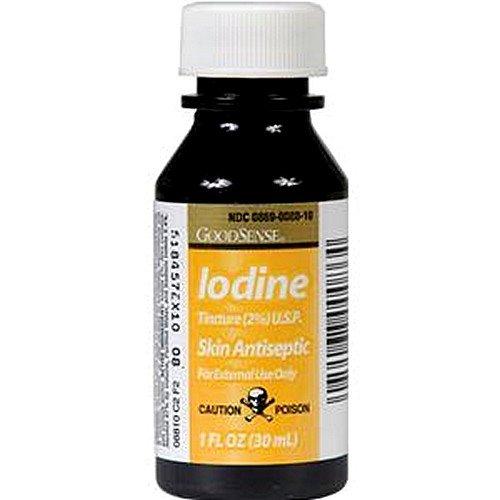 Iodine, Iodine Tincture 1oz, (1 CASE, 72 EACH) by GEISS DESTIN &DUNN INC