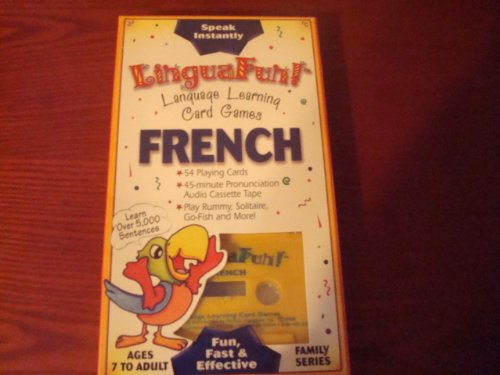 Language Learning Card Games: French (Lingua Fun) (French Edition)