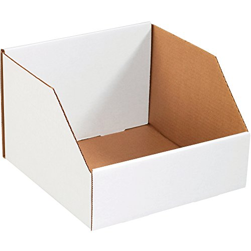 Aviditi BINJ12128 Jumbo Open Top Bin Box, 12