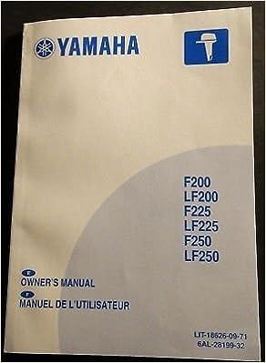 Amazon.com: 2012 YAMAHA F200, LF200, F225, LF225, F250 ...
