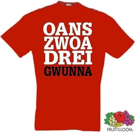 Gwunna Triple M/ünchen T-Shirt von S-XXXL Zwoa DREI Oans