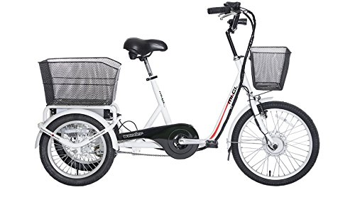 Ciclos ferrareis 20Bicicleta Triciclo Eléctrico Wonder Cicli Ferrareis