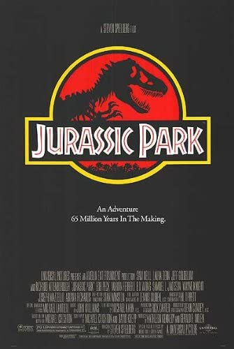 POSTER-JURASSIC PARK ORIGINAL MOVIE POSTER at Amazon's Entertainment  Collectibles Store