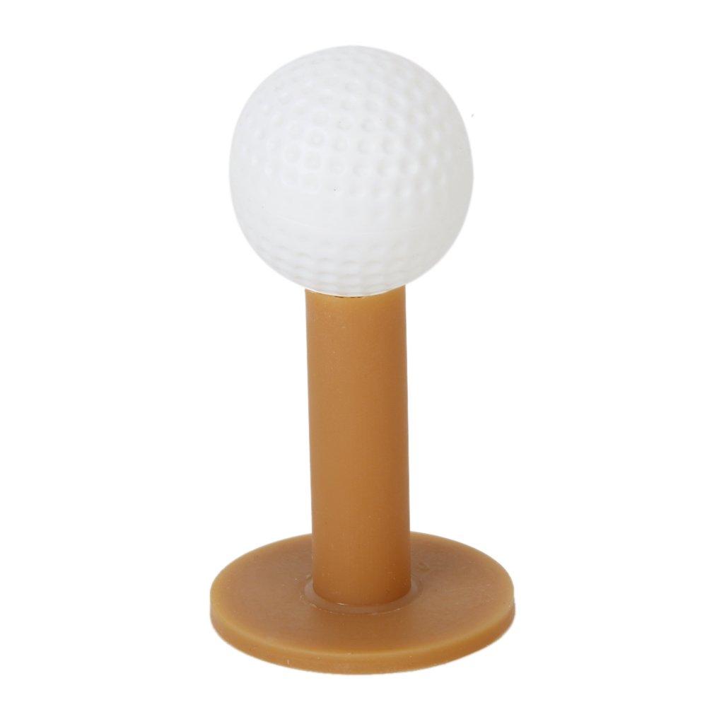 3x Golf Café Durable Tees Tee De Goma Caucho Para Campo De Prácticas 60/70/80mm