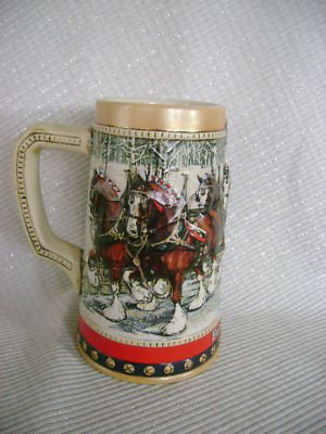 BUDWEISER 1988 COLLECTORS SERIES STEIN product image