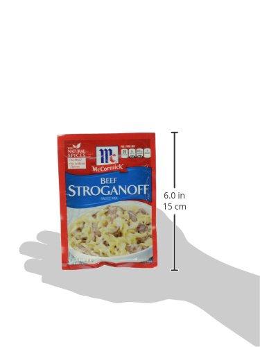 McCormick Beef Stroganoff Seasoning Mix, 1.5 oz by McCormick (Image #6)