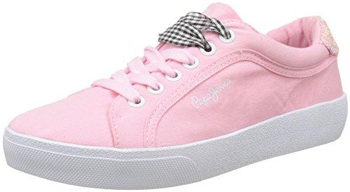 Jeans Pepe Rene Sneakers Basses Skate Femme petal Rose RgqzgUd