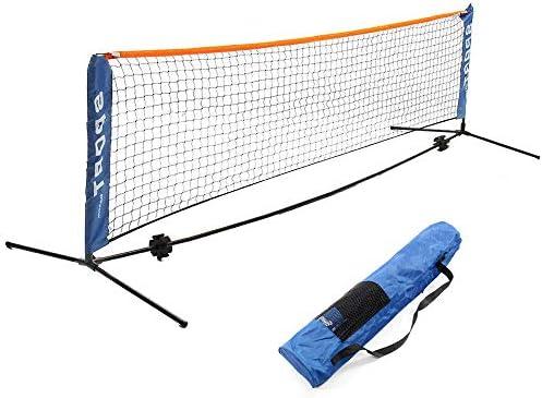 مجموعة شبكة تنس الريشة المحمولة شبكة للتنس تنس كرة القدم كرة الطائرة للأطفال شبكة رياضية سهلة الإعداد مع أقطاب للملعب الداخلي أو الخارجي الشاطئ Amazon Ae
